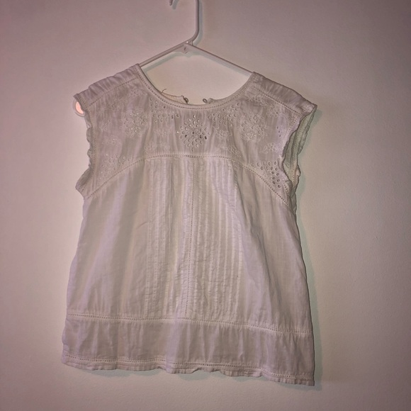 Abercrombie & Fitch Tops - Abercrombie And Fitch Sheer White Blouse